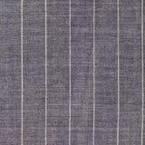 Fondo cuadrado de la tela de lana rayada gris Fotografía de archivo