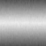 Fondo cuadrado de plata del metal Foto de archivo