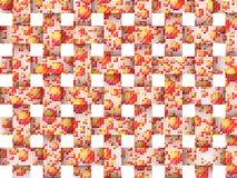 Fondo cuadrado del mosaico Imágenes de archivo libres de regalías