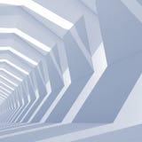 Fondo cuadrado entonado azul abstracto del CG Foto de archivo