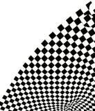 Fondo a cuadros de la textura 3d stock de ilustración