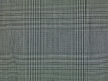 Fondo a cuadros gris de la tela, Foto de archivo libre de regalías