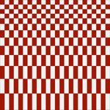 Fondo a cuadros rojo abstracto del modelo Imagen de archivo