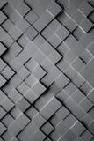 Fondo cubico di alluminio delle mattonelle royalty illustrazione gratis
