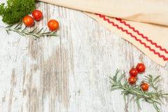Fondo culinario de la comida Fotografía de archivo libre de regalías