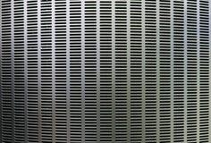 Fondo curvado plata del metal Imágenes de archivo libres de regalías