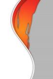 Fondo curvy moderno abstracto de S stock de ilustración