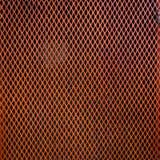 Fondo d'acciaio arancio di struttura della poltiglia del metallo Immagini Stock