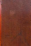 Fondo d'acciaio arancio di struttura della poltiglia del metallo Fotografia Stock Libera da Diritti