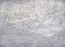 Fondo d'acciaio di piastra metallica consumato Fotografia Stock