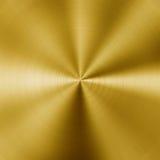 Fondo d'acciaio dorato Fotografia Stock