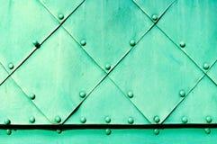Fondo d'acciaio industriale Fotografia Stock Libera da Diritti