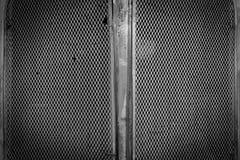 Fondo d'acciaio nero di struttura della poltiglia del metallo Fotografia Stock Libera da Diritti