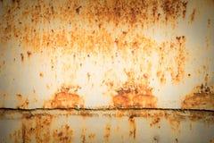 fondo d'acciaio stagionato della parete e di struttura Per l'esposizione del prodotto Fotografia Stock Libera da Diritti