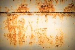 fondo d'acciaio stagionato della parete e di struttura Per l'esposizione del prodotto Immagini Stock Libere da Diritti