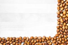 Fondo d'angolo dell'arachide Immagini Stock Libere da Diritti