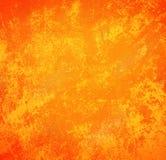fondo d'annata arancio di stile con lo spazio della copia per il lerciume del testo Immagine Stock Libera da Diritti