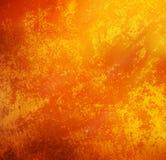 fondo d'annata arancio di stile con lo spazio della copia per il lerciume del testo Immagini Stock Libere da Diritti