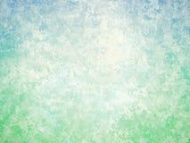 Fondo d'annata astratto bianco di verde blu Immagini Stock