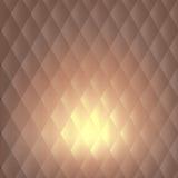 Fondo d'annata astratto geometrico di colore Fotografia Stock