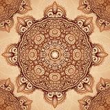 Fondo d'annata decorato del tovagliolo di vettore illustrazione vettoriale