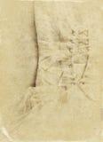 Fondo d'annata del corsetto del vestito da sposa Arco della stella blu con il nastro blu (involucro di regalo) su priorità bassa  Immagine Stock Libera da Diritti