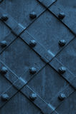 Fondo d'annata del metallo strutturato con la superficie di lerciume Fotografie Stock Libere da Diritti