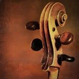 Fondo d'annata del violoncello Immagine Stock Libera da Diritti