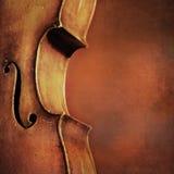 Fondo d'annata del violoncello Fotografie Stock Libere da Diritti