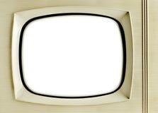 Fondo d'annata della televisione Fotografie Stock Libere da Diritti