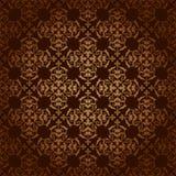 Fondo d'annata di marrone scuro con la pendenza Royalty Illustrazione gratis