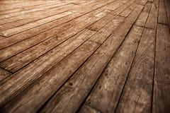 Fondo d'annata fotografico di vecchio di parquet lerciume di legno del pavimento Fotografia Stock