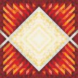 Fondo d'annata geometrico 10 Fotografie Stock Libere da Diritti