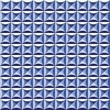 Fondo d'annata geometrico astratto senza cuciture del modello delle mattonelle Fotografia Stock