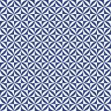 Fondo d'annata geometrico astratto senza cuciture del modello delle mattonelle Fotografie Stock Libere da Diritti