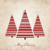 Fondo d'annata per il Natale Fotografia Stock