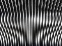 Fondo d'argento del metallo Fotografie Stock