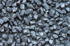 Fondo d'argento metallico delle pietre Struttura grigia delle rocce fotografia stock libera da diritti