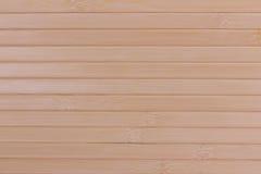 Fondo da legno di bambù Immagini Stock Libere da Diritti