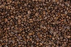 Fondo dai chicchi di caffè fragranti Immagine Stock