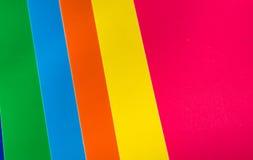 Fondo dai fogli di carta colorata Immagine Stock Libera da Diritti