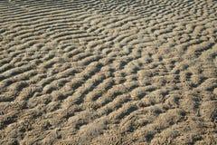 Fondo dalla sabbia sulla spiaggia Fotografia Stock