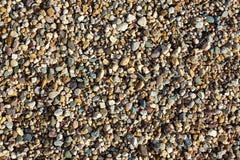 Fondo dalle pietre della ghiaia Immagini Stock Libere da Diritti