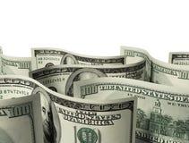 fondo de $100 billetes de banco ilustración del vector