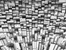 Fondo de Abstact de los rectángulos Fotos de archivo libres de regalías