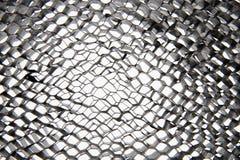 Fondo de acero de la textura del hexágono foto de archivo