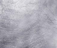Fondo de acero plateado de metal. Foto de archivo libre de regalías