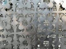 Fondo de acero plateado de metal del vintage imagenes de archivo