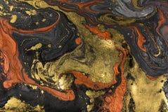 Fondo de acrílico abstracto de mármol Textura de las ilustraciones de la naturaleza que vetea ilustración del vector
