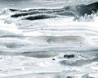 Fondo de acrílico blanco y negro Imagen de archivo